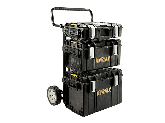 DEWALT TOUGHSYSTEM<sup>(TM)</sup> 4-in-1 Trolley & 3 DS Toolboxes DEW170349