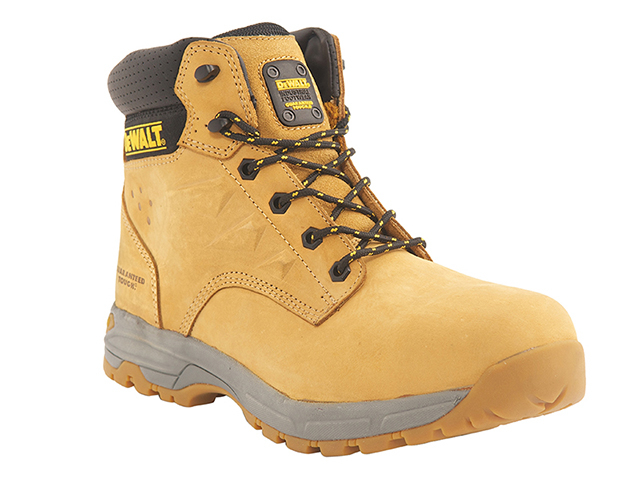 DEWALT SBP Carbon Nubuck Safety Hiker Wheat Boots UK 12 Euro 46 DEWCARBON12W