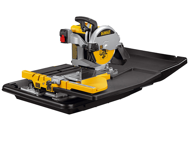 DEWALT D24000 Wet Tile Saw with Slide Table 1600 Watt 110 Volt DEWD24000L