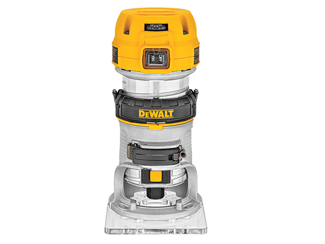 DEWALT D26200 1/4in Compact Fixed Base Router 900W 240V DEWD26200