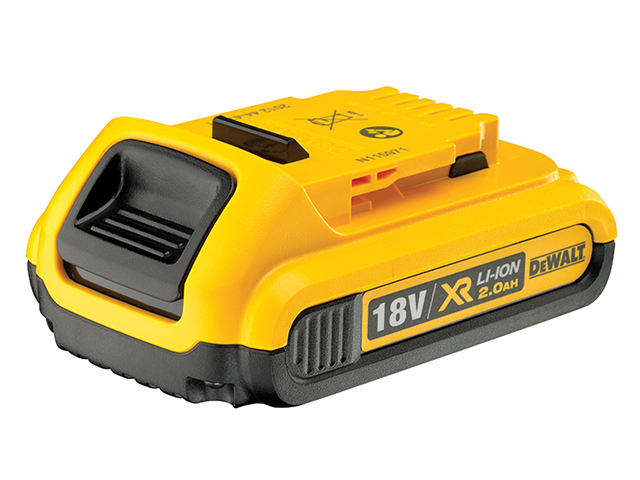 DEWALT DCB183 XR Slide Battery Pack 18V 2.0Ah Li-ion DEWDCB183
