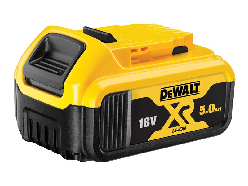 DEWALT DCB184 XR Slide Battery Pack 18V 5.0Ah Li-ion DEWDCB184