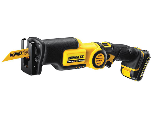 DEWALT DCS310D2 Cordless Pivot Reciprocating Saw 10.8V 2 x 2.0Ah Li-Ion DEWDCS310D2
