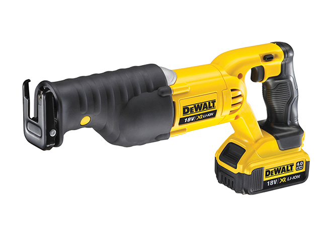 DEWALT DCS380M2 Premium XR Reciprocating Saw 18V 2 x 4.0Ah Li-ion DEWDCS380M2