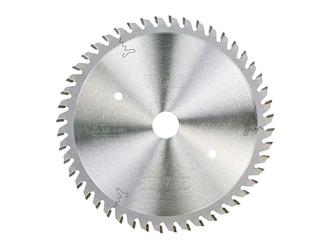 DEWALT DT1090 Plunge Saw Blade For Corded Saws 165 x 20 x 48 Teeth 2.2mm Kerf DEWDT1090QZ