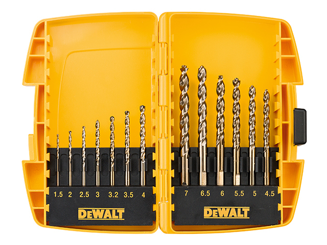 DEWALT DT7920BQZ Small Tough Case Metal Drill Set 13 Piece DEWDT7920BQZ