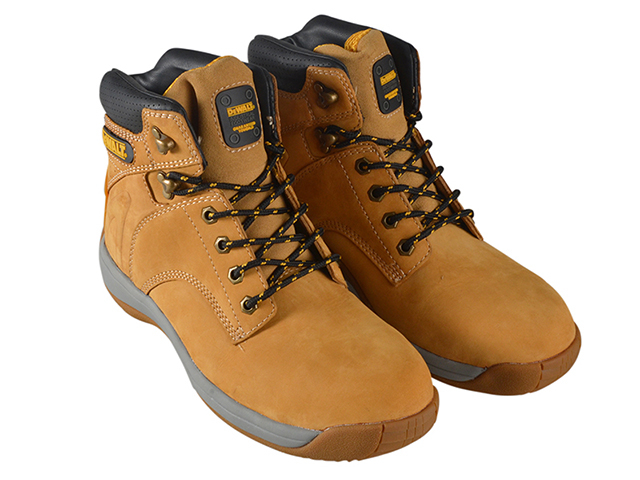 DEWALT Extreme 3 Wheat Buffalo Safety Boots UK 11 Euro 45 DEWEXTRE311