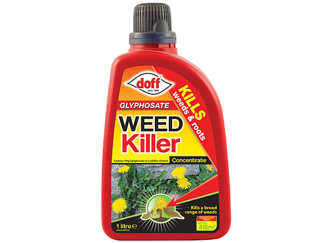 DOFF Glyphosate Weedkiller Concentrate 1 Litre DOFFZA00