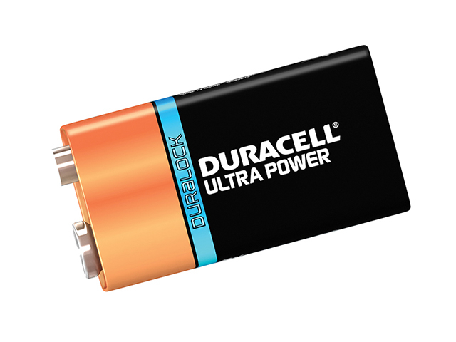 Duracell 9V Cell Ultra Power Battery Pack of 1 DUR9VK1UM3