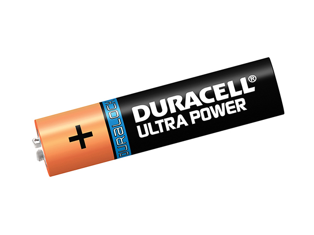 Duracell AAA Cell Ultra Power Batteries Pack of 4 RO3A/LR03 DURAAAK4UM3