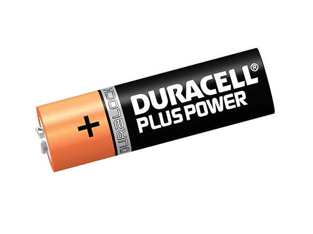 Duracell AA Cell Plus Power Batteries Pack of 12 LR6/HP7 DURAAK12P