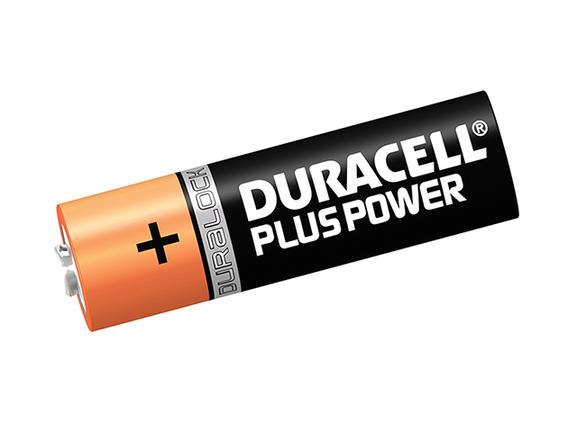 Duracell AA Cell Plus Power Batteries Pack of 4 LR6/HP7 DURAAK4P