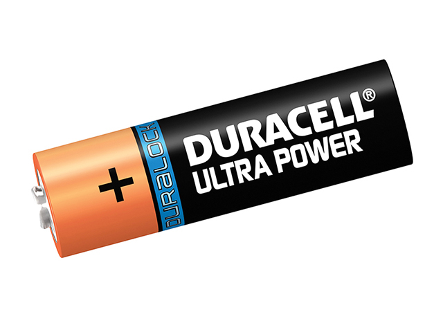 Duracell AA Cell Ultra Power Batteries Pack of 4 LR6/HP7 DURAAK4UM3
