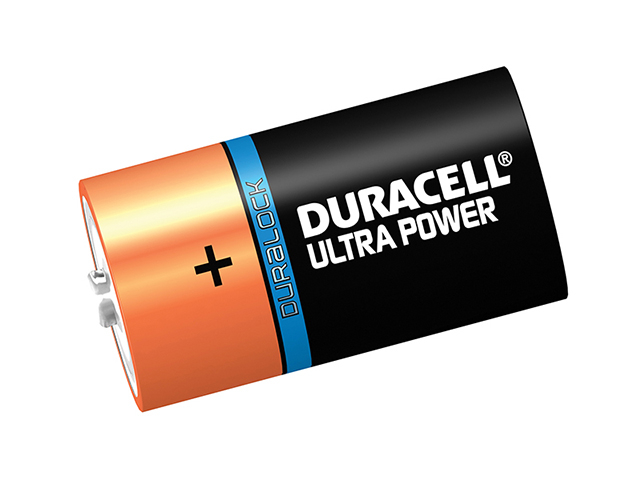 Duracell D Cell Ultra Power Batteries Pack of 2 DURDK2UM3