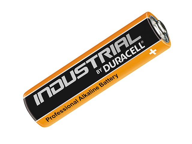 Duracell AAA Professional Industrial Batteries Pack of 10 DURINDAAA