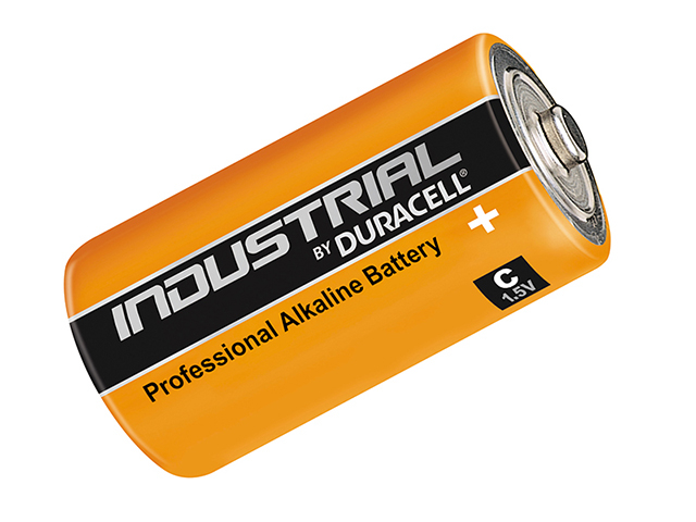 Duracell C Cell Professional Industrial Batteries Pack of 10 DURINDC