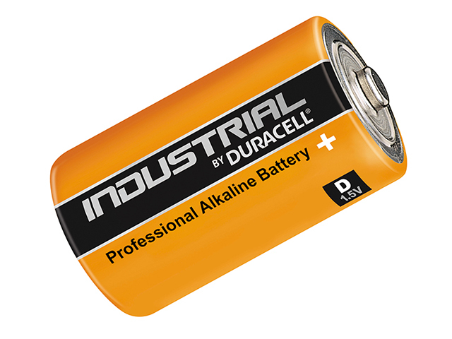 Duracell D Cell Professional Industrial Batteries Pack of 10 DURINDD