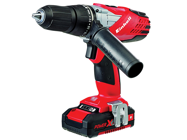 Einhell TE-CD 18LI Power X-Change Cordless Combi Drill 18V 1 x 1.5Ah Li-Ion EINTECD18LI