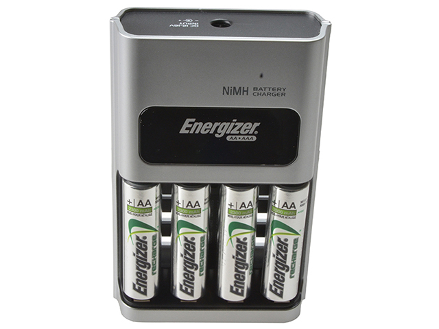 Energizer® 1 Hour Charger + 4 x AA 2300mAh Batteries ENG1HOUR