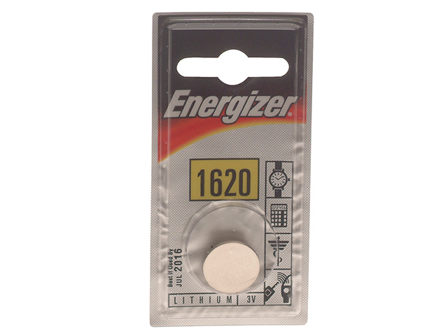 Energizer® CR1620 Coin Lithium Battery Single ENGCR1620