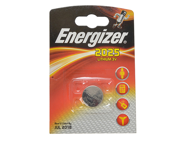 Energizer® CR2025 Coin Lithium Battery Single ENGCR2025