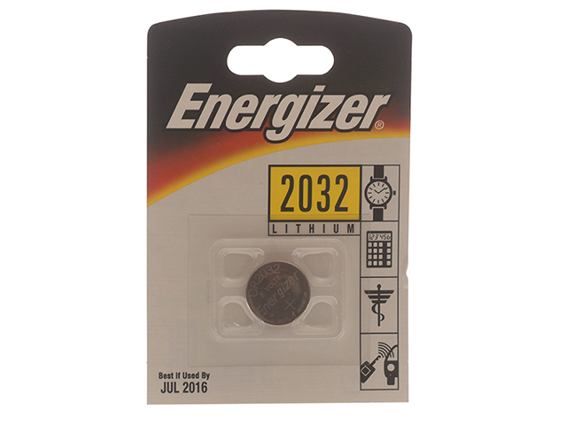 Energizer® CR2032 Coin Lithium Battery Single ENGCR2032