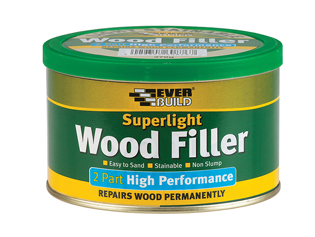 Everbuild Superlight 2 Part High Performance Wood Filler 370g EVB2PSUPLT3