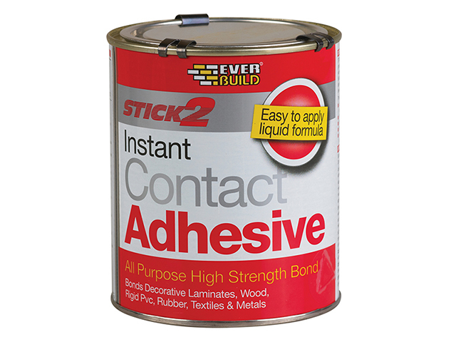 Everbuild STICK2® All-Purpose Contact Adhesive 750ml EVBCON750