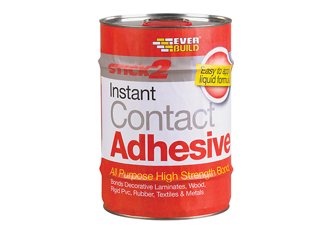 Everbuild STICK2® All-Purpose Contact Adhesive 5 Litre EVBCONA5