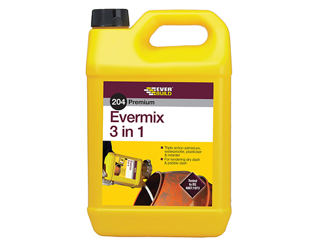 Everbuild 204 Evermix 3 in 1 5 litre EVBEMIX5