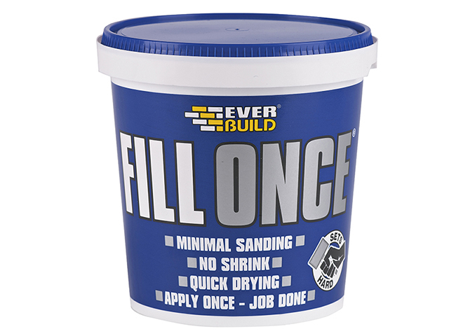 Everbuild Ready Mix Fill Once 650ml EVBFILONCE06