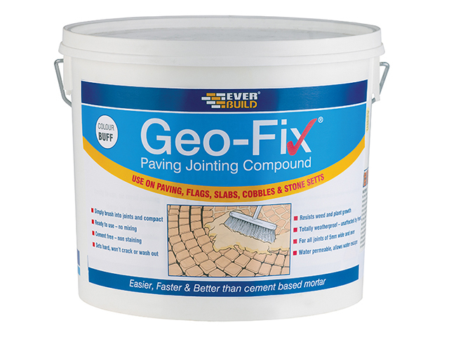 Everbuild Geo-Fix® Paving Mortar Buff 20kg EVBGEOFIX20B