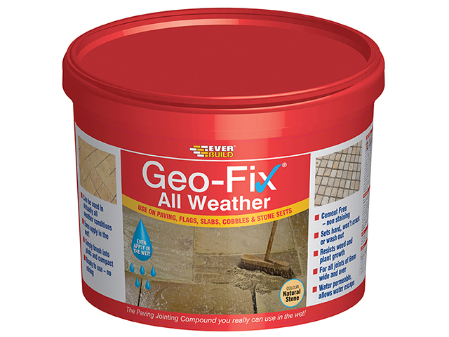 Everbuild Geo-Fix® All Weather Stone 14kg EVBGEOWET14S