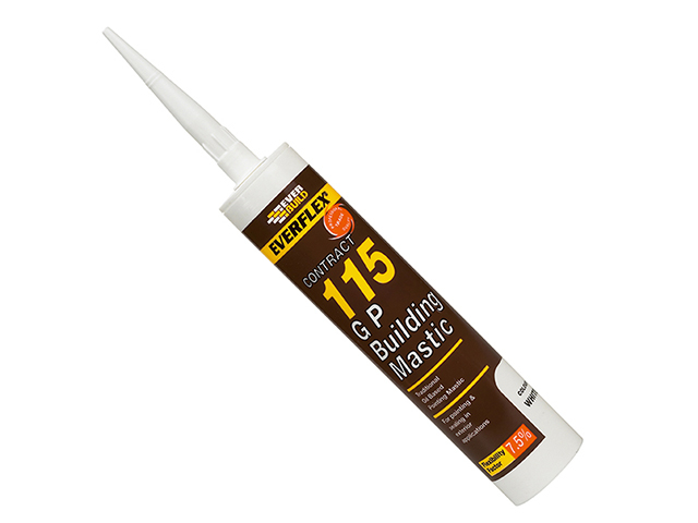 Everbuild 115 General Purpose Building Mastic Stone 285ml EVBMASST