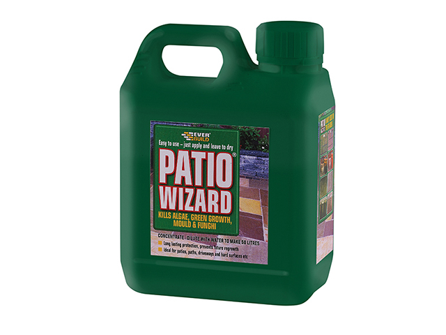 Everbuild Patio Wizard Concentrate 1 Litre EVBPATWIZ1L