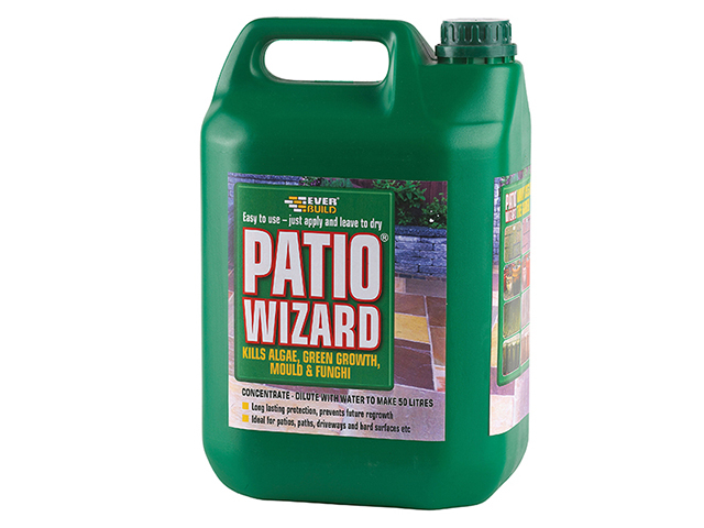 Everbuild Patio Wizard Concentrate 5 Litre EVBPATWIZ5L