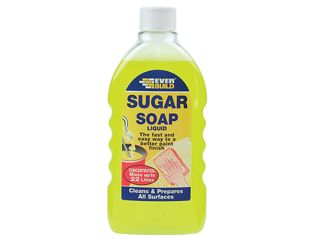 Everbuild Sugar Soap Liquid Concentrate 500ml EVBSOAPLIQ