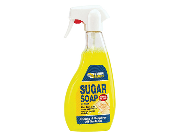 Everbuild Sugar Soap Trigger Spray 500ml EVBSOAPSPRAY