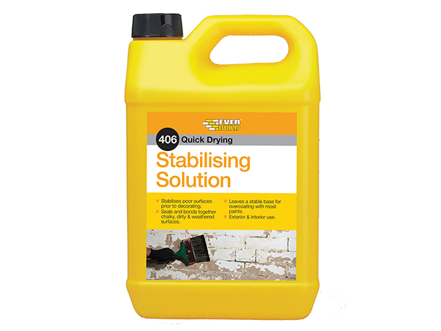 Everbuild 406 Stabilising Solution 5 litre EVBSTAB5