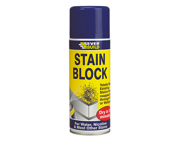 Everbuild Stain Block Spray 400ml EVBSTAINSTP