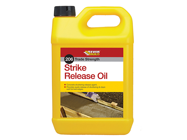 Everbuild 206 Strike Release Oil 5 litre EVBSTRIKE5