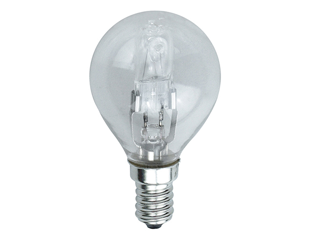 Energizer Lighting G45 Halogen Bulb 48W (60W) SES/E14 Small Edison Screw Box 1 EVES5425