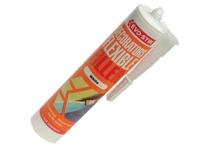 Evo-Stik Decorator's Flexible Acrylic Filler - White C20 EVODFFW