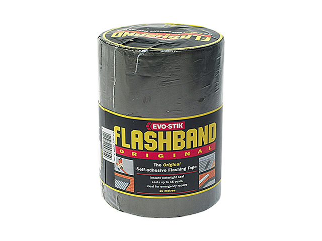 Evo-Stik Flashband Roll Grey 100mm x 10m EVOFB100
