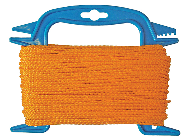 Faithfull 306 Polyethylene Ranging Line 30m (100ft) Orange FAI306