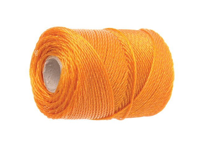 Faithfull 3250 Heavy-Duty Polyethylene Brick Line 250m (820ft) Orange FAI3250