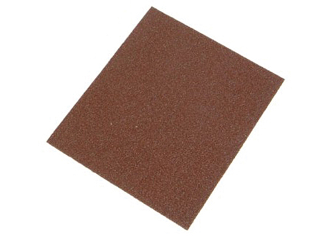 Faithfull 1/4 Sheet Palm Sander Sheets Coarse Grit (Pack of 5) FAIASPALM5C