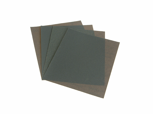 Faithfull Wet & Dry Paper Sanding Sheets 230 x 280mm Medium (4) FAIAWDP4M