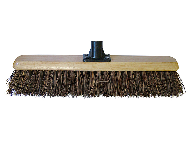 Faithfull Platform Broom Head Bassine 45cm (18in) Threaded Socket FAIBRBAS18R