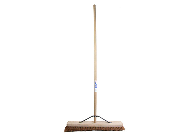 Faithfull Broom Soft Coco 60cm (24in) + Handle & Stay FAIBRCOCO24H
